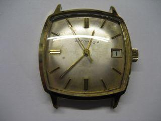 Schöne Alte Beha Herren Automatik Armbanduhr Bild