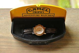 Camel Trophy Masterpiece Gold Chronograph Bild