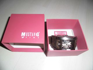 Mustang Armbanduhr Wr50m Braun Quarzuhr - - - Bild