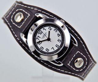 Pallas Kinderarmbanduhr Schwarz Mit Leder Armband Armbanduhr Uhr 7724.  78.  16 Bild