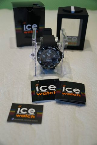 Ice Watch Xl - Model Di.  Bw.  Xb.  R.  11 - Ice Surf 200m Extra Big - Weiß/schwarz Bild