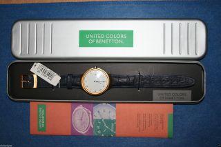 United Colors Of Benetton Herren Armbanduhr M.  Datumsanzeige U.  Römischen Ziffer Bild
