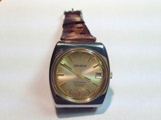 Geneve Automatik Herren Armband Uhr,  Ungetragen Bild