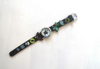 Kinderuhr Armbanduhr Qartz Zauberer Schwarz Kinder Armbanduhr Bild