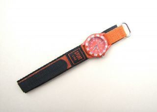 Kinderuhr Armbanduhr Youngster Quarz Orange Klettband Bild