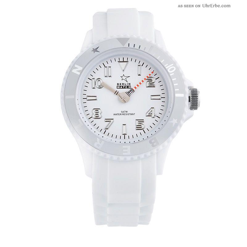 Berlin Watch Armbanduhr Uhr Berlin Fernsehturm Geschenkbox Weiss Armbanduhren Bild