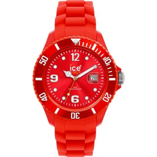 Ice - Watch Damenuhr,  Kinderuhr,  Datum,  Quarzuhr Silikon Si.  Rd.  U.  S.  09 Red Unisex Bild
