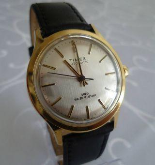 Vintage Timex Armbanduhr,  Automatic,  Neuwertiger,  Läuft Sehr Gut Bild