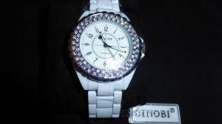 Sinobi Luxus Quarz Analog Damen Armbanduhr Mit Strass,  Sehr Edel Bild
