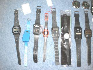 Konvolut Herren Armbanduhren Piratron - Quarz Sammler/bastler Bild