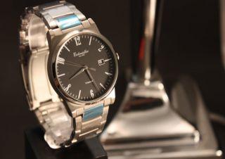 Herrenuhr,  Armbanduhr,  Datumsanzeige,  Titanuhr,  Titanarmband,  Faltschließe,  3atm Bild