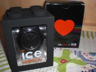 Ice Watch Uhr - Ice Love Black - Big - Lo.  Bk.  B.  S.  11 Bild