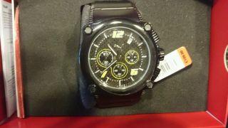 Puma Sportren Chronograph Schwarz Herrenuhr Pu101561002 Rotor 4420071 Bild