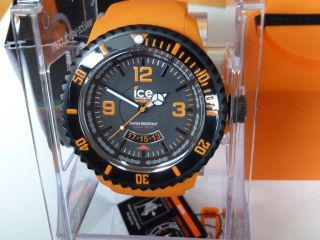 Big Xxl Ice Watch Di.  Oe.  Xb.  R.  11 Ice Surf Extra Black Orange Ovp Bild