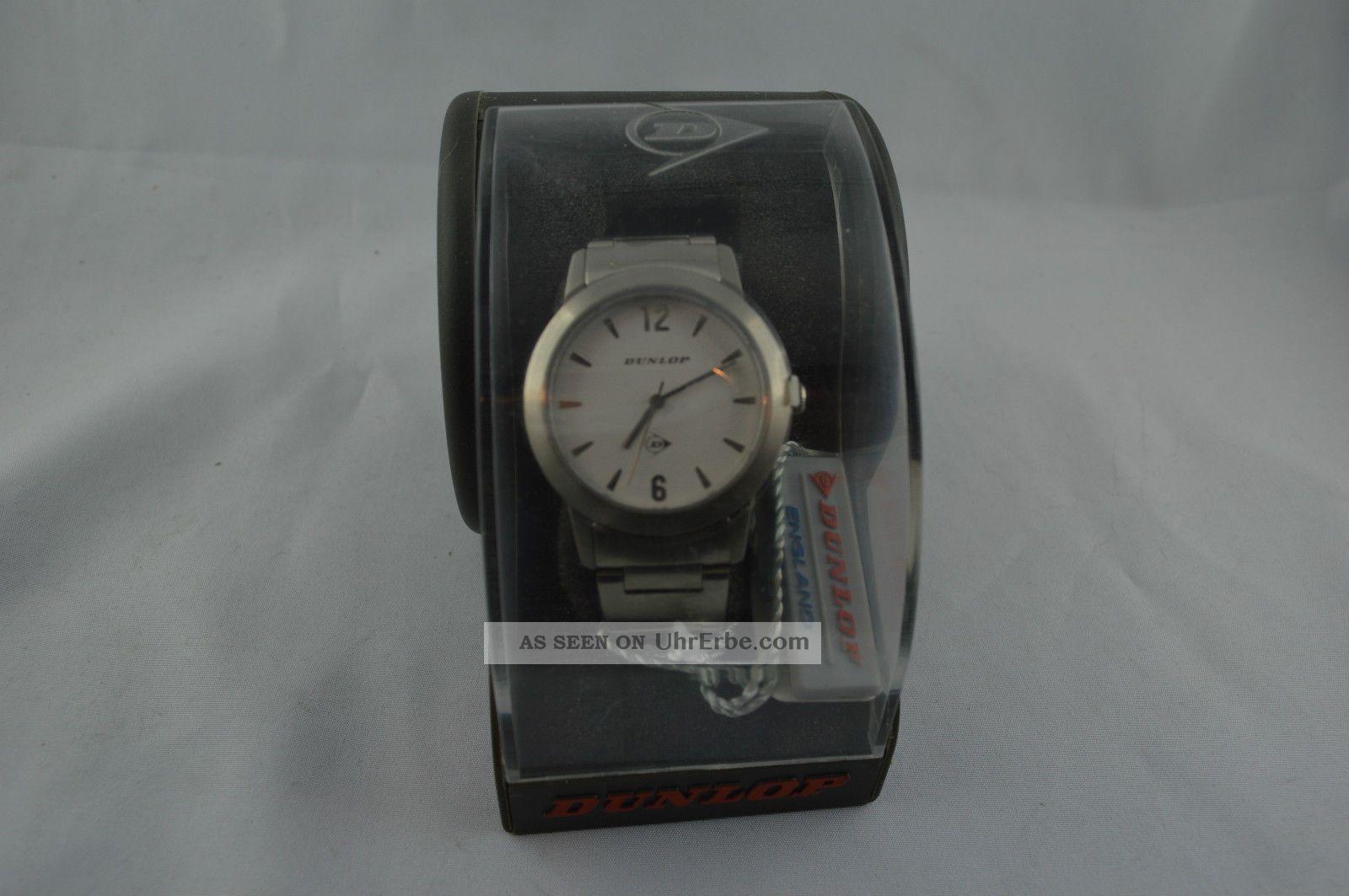 Armbanduhr Dunlop D217 Tour Ungetragen Analog Metall Armbanduhren Bild