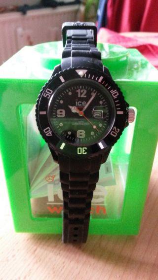 Ice Watch Schwarz Silikon Bild