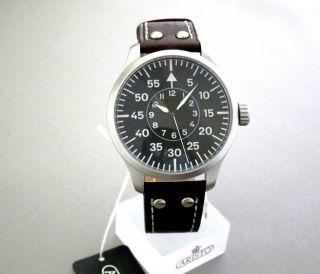 Aisto Uhr 3h108 - Grosse Fliegeruhr - 47 Mm - Automatikwerk,  Eta 2824 - 2 Bild