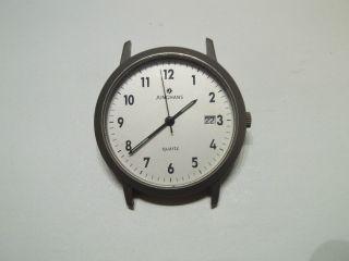 Junghans Armbanduhr - Quarz - Titanium Sammler Uhr VollfunktionstÜchtig Bild