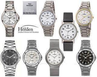 Dugena Titan Herren Uhr Titanuhr Quarz Herrenuhr Armband Männer Armbanduhr Bild