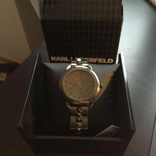 Karl Lagerfeld Edelstahl Unisex Uhr Kl 2202 Ovp Bild