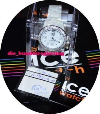 El.  Psr.  U.  Ac.  12 Ice Elegant Pearl Silver Unisex Ice Watch Bild