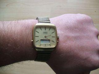 Defekte Uhr Sammlung Alte Mbo 0931 Quartz Herrenuhr An Bastler Bild