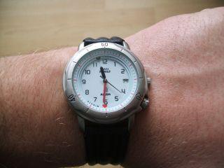 Uhr Sammlung Alte Timex Indiglo Quartz Herrenuhr Bild