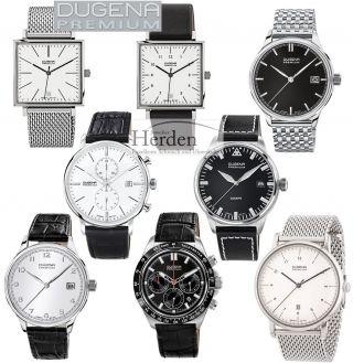 Dugena Premium Herren Classic Uhr Quarz Herrenuhr Armbanduhr Männer Chrono Bild