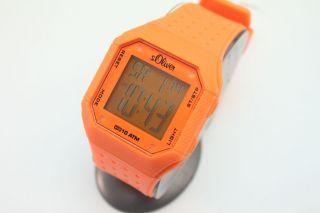 S.  Oliver Uhr Digitale Armbanduhr Sport Uhren Alarm 10 Atm Uvp : 49,  95€ Ovp Bild