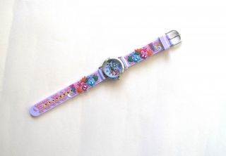 Kinderuhr Armbanduhr Quartz Fledermäuse Lila Kinderarmbanduhr Bild