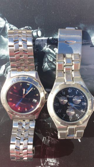 Konvolut Edler Armbanduhren & Werke - Lorus,  Pearl Ohne Baterie Uhr Uhren Old Bild