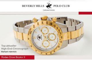 Beverly Hills Polo Club Uhr Uvp 499€ Neu&ovp Mit Rechnung Bild