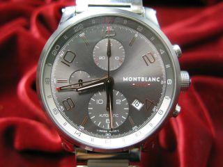 Montblanc Timewalker Chrono Voyager Utc Bild