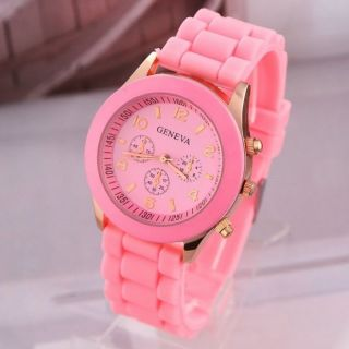 Modische Armbanduhr Hingucker Rose/gold Bild