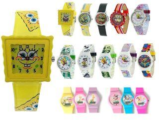 Spongebob Schwammkopf Disney Kinder Uhr Für Mädchen Jungen Weihnachtsgeschenk Bild