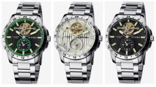 Eyki Automatik Meschanisch Armbanduhr Herrenuhr Uhr Wasserdicht Efl8562ag Bild