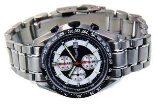 Kienzle Herren Uhr Chronograph Quartz Edelstahl Metallarmband Datum V73091538710 Bild