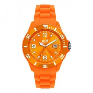 Ice - Watch Kinder,  Damenuhr,  Datum,  Quarzuhr Silikon Si.  Oe.  S.  S.  09 Orange Small Bild