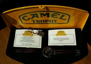 Camel Trophy Adventure Watch Chronograph Analog Bild