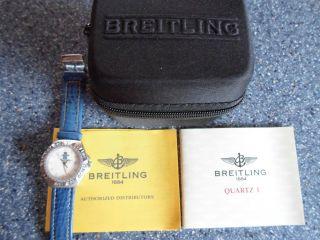 Breitling Aeromarine Dpw Militär Military Militare Uhr Watch Mit Zubehör Bild