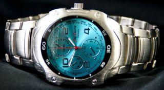 Jay Baxter Metall Gliederband Xxl Armbanduhr Quartz Herrenuhr Bild