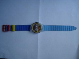 Bunte Armbanduhr Sportbau Eybl - Limited Edition - Tennis Bild