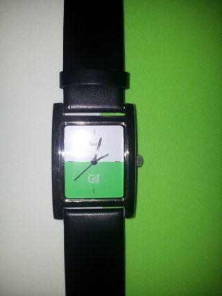 Neuwertige Kienzle Armbanduhr Uhr Rarität Grün Weiß G,  J Bild