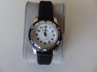 Armbanduhr,  Quarzuhr,  Edelstahl,  Schraubboden,  Batterie,  Manguun Bild