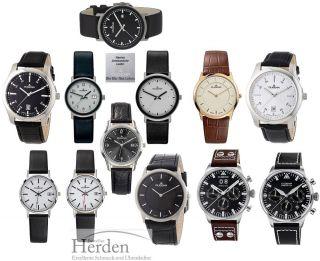 Dugena Herren Damen Classic Uhr Quarz Armbanduhr Männer Frauen Chrono Leder Band Bild