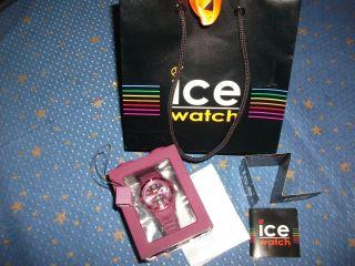 Uhr Ice Watch Beere Armbanduhr Unisex Bon Verpackung Sammelanhänger Schön Bild