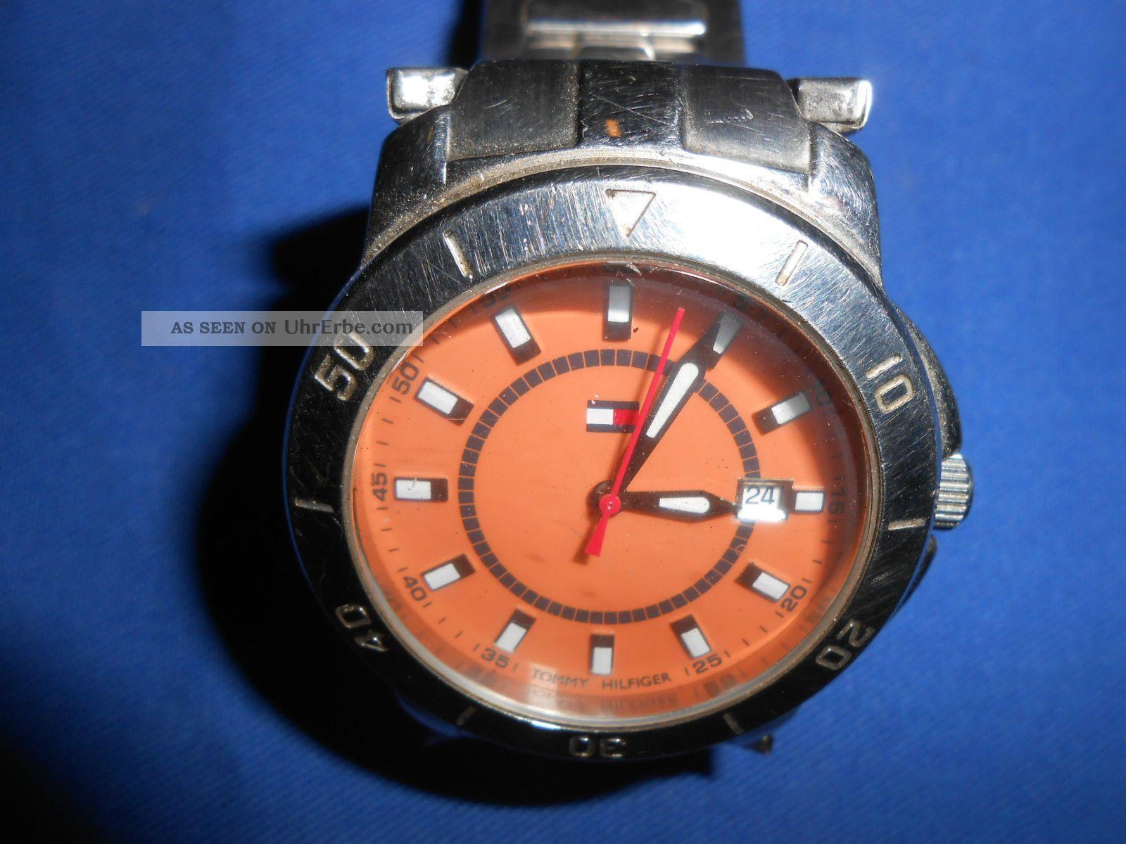 Herrenuhr Tommy Hilfinger Armbanduhr Ersatzteile Uhren Männeruhr Herren Uhr Armbanduhren Bild
