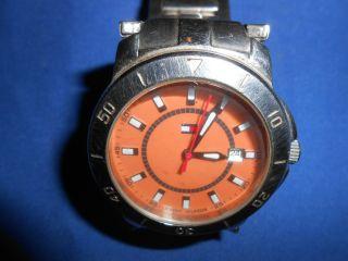 Herrenuhr Tommy Hilfinger Armbanduhr Ersatzteile Uhren Männeruhr Herren Uhr Bild