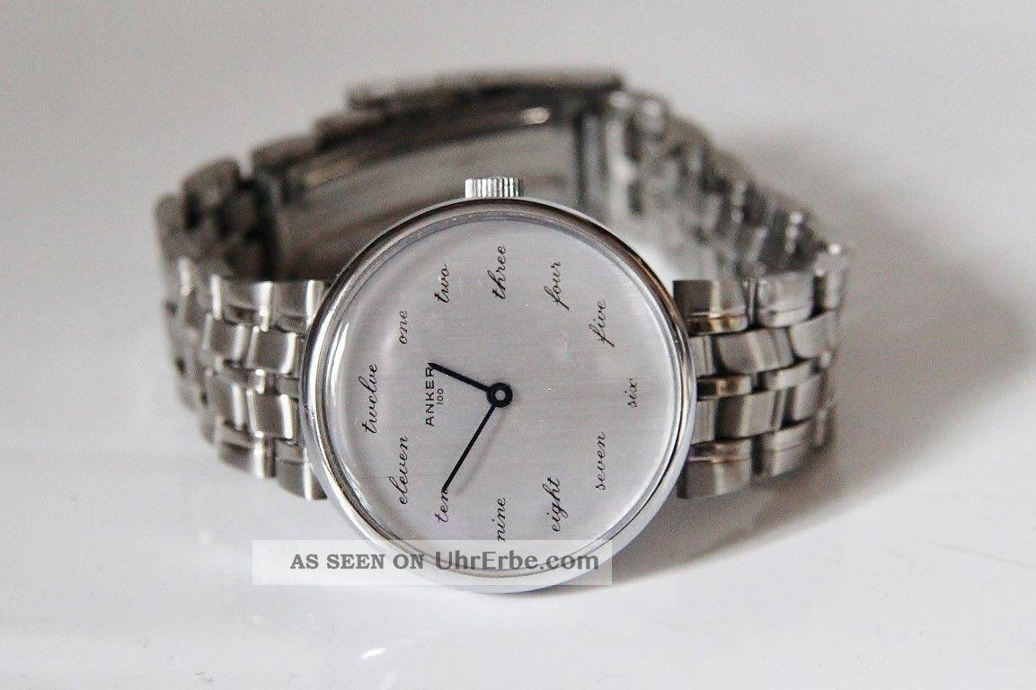 Alte Anker 100 Handaufzug Uhr Armbanduhren Bild