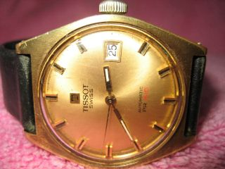 Vintage Automatic Tissot Pr 516 Swiss Made Bild